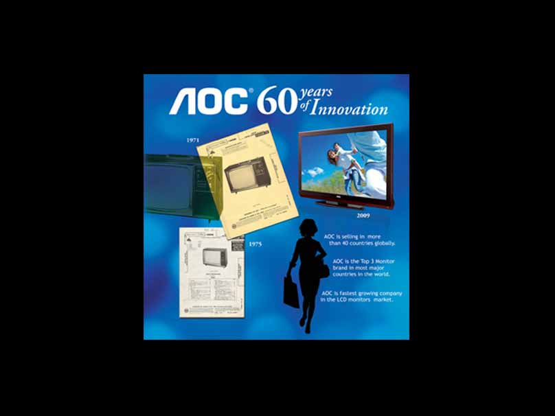 AOC 60 Years of Innovation Wall Banner