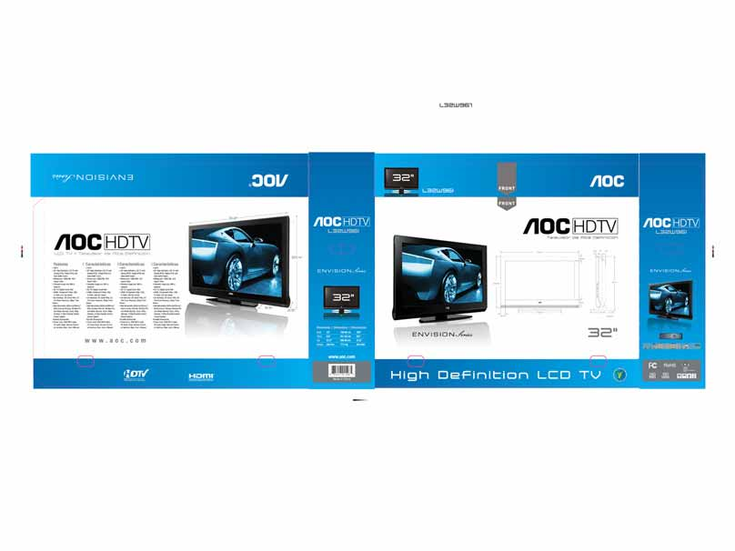 AOC HDTV Box Design